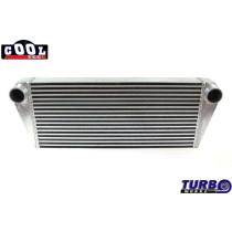 Intercooler TurboWorks 700x300x76 hátsó kivezetéssel